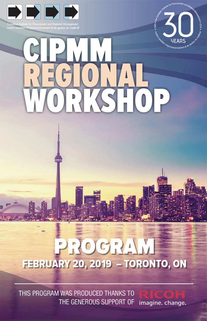 2019 Regional Workshop – Toronto