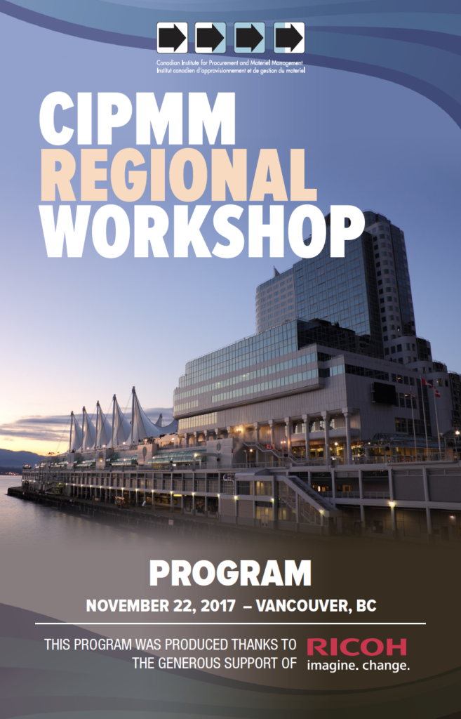 2017 Regional Workshop – Vancouver